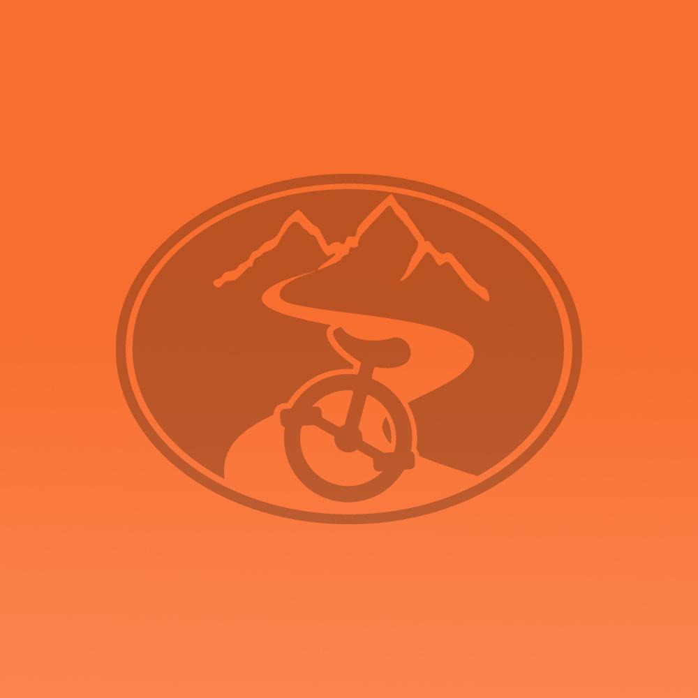 "20"" Club Freestyle Unicycle Orange with White Tyre"
