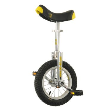 "12"" Qu-Ax 'Luxus' Unicycle - Chrome"