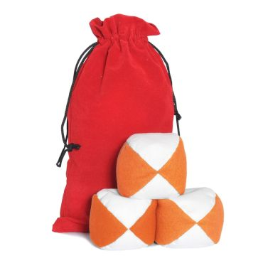 Firetoys Moleskin Ball Set - Orange & White