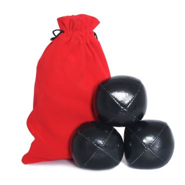 Juggling Ball Set - Black (120g)