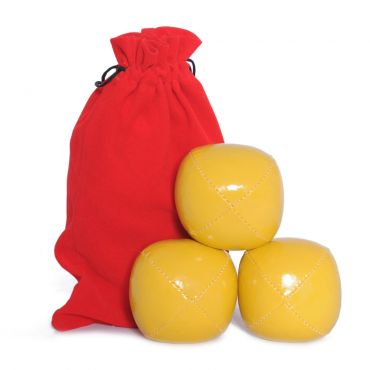 Juggling Ball Set - Yellow (120g)