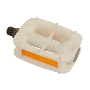 Budget Pedals White
