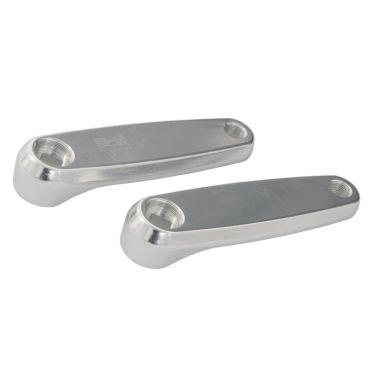 Qu-Ax 'Aluminium' Cotterless Cranks - 125mm