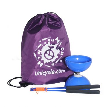 Juggle Dream Big Top Bearing Diabolo - Blue