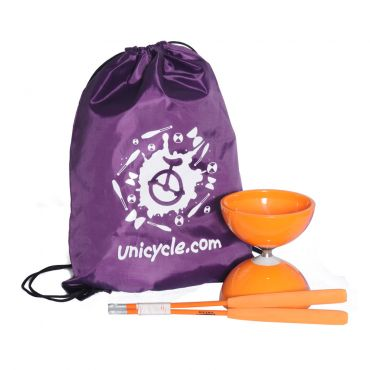 Juggle Dream Big Top Bearing Diabolo - Orange