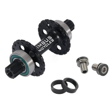 Nimbus ISIS Alu Hub - 36 Hole (90mm) - Black