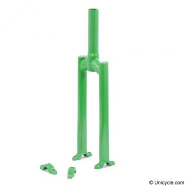 """20"""" Nimbus II Unicycle Frame - Green, Option:40mm"""