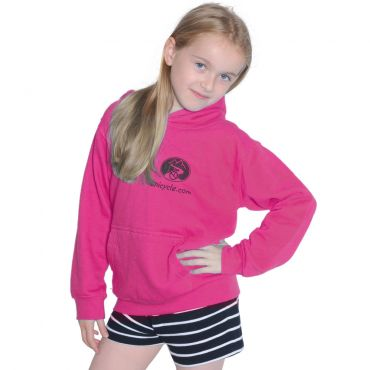 Kids Unicycle.com Hoodie - Pink