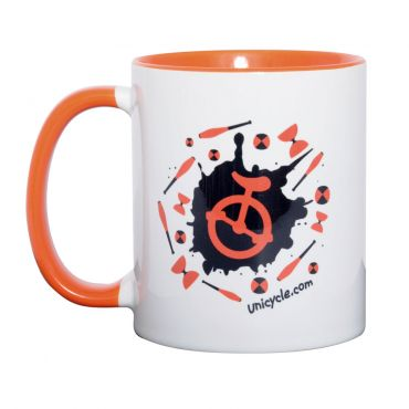 Unicycle.com Mug - Juggling Logo