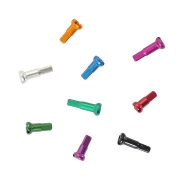 Coloured Spoke Nipples 14G