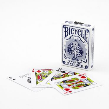 Bicycle Cyclist Playing Card Deck - Blue