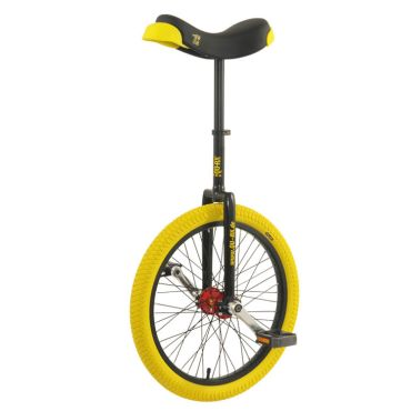 "20"" Qu-Ax 'Profi' Unicycle - Black"
