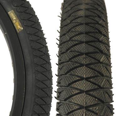 "Qu-Ax Freestyle Tyre 18"" x  1.75"" - Black"