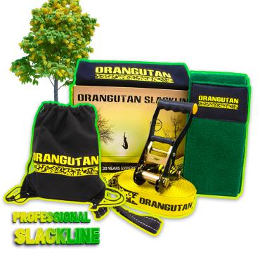 Orangutan Slackline - 15m (Tree Protector)
