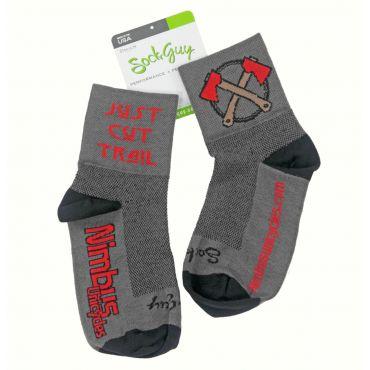 Nimbus Hatchet Socks - Large / XLarge (Grey)
