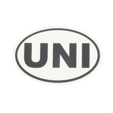 UNI Car Sticker