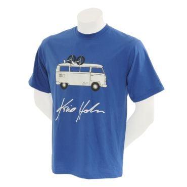 Kris Holm Unicycles T-shirt - Blue