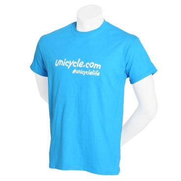Unicycle.com T-shirt - Blue