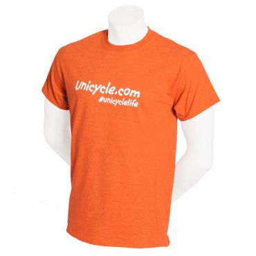Unicycle.com T-shirt - Orange