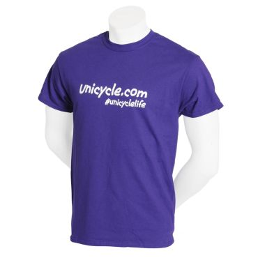 Unicycle.com T-shirt - Purple