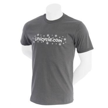 Unicycle.com T-shirt - Winter (Grey)