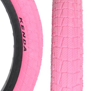 "Kenda Krackpot 20"" x 1.95"" Tyre - Pink"