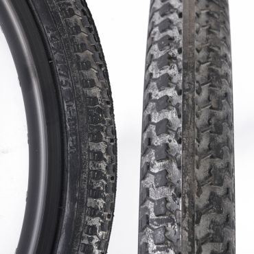 "Unicycle Tyre 24"" x 1.75"" - Black"