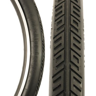 """King George 36"""" Tyre, Black"""