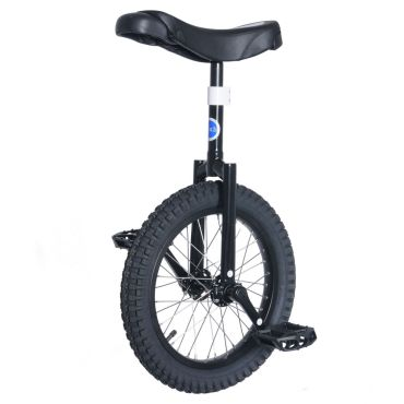 "16"" Club Beginners Trials Unicycle - Black"