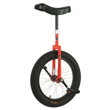 "19"" Club Beginner Trials Unicycle - Red"