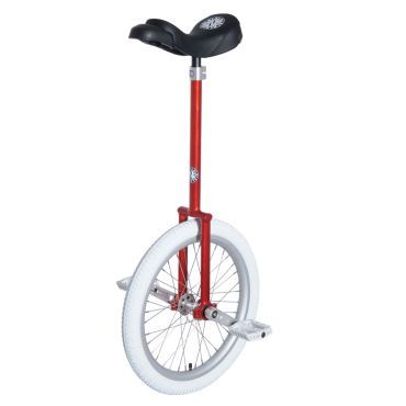 "20"" Nimbus 'Eclipse' Unicycle - 400mm (Red)"