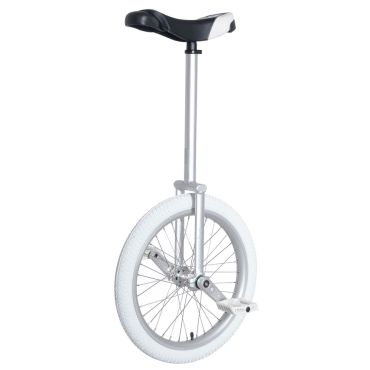 "20"" Nimbus Equinox-Pro Unicycle - Silver"