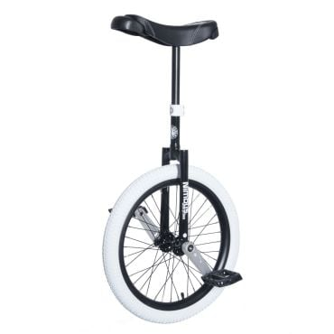 "20"" Nimbus II Unicycle - White/Black"