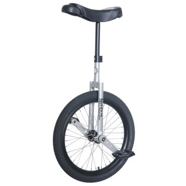 """20"""" Nimbus II Unicycle - Black/Chrome"""