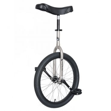 "20"" Adult Trainer Unicycle - Silver"