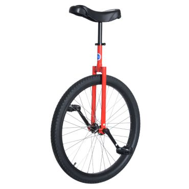 "26"" Club Beginners Road Unicycle - Red"