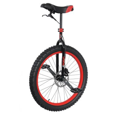 """26"""" Nimbus 'Oracle' Disc Unicycle - Red"""