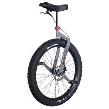 "26"" Nimbus Hatchet MUni Unicycle - Grey"