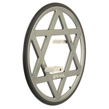"""28"""" Nimbus Aluminium Ultimate Wheel - Silver"""