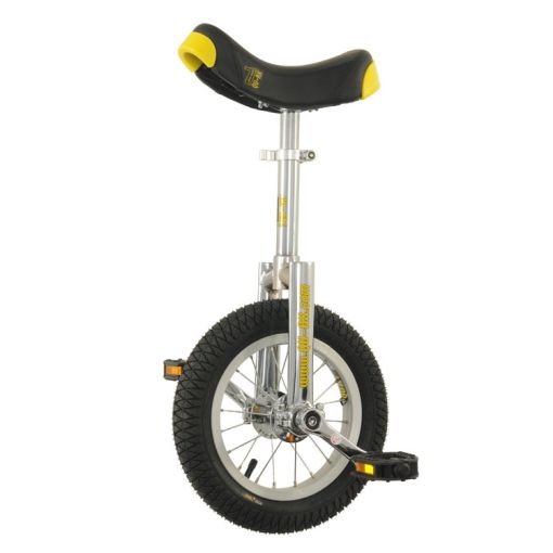 "12"" Qu-Ax 'Luxus' Unicycle - Chrome"