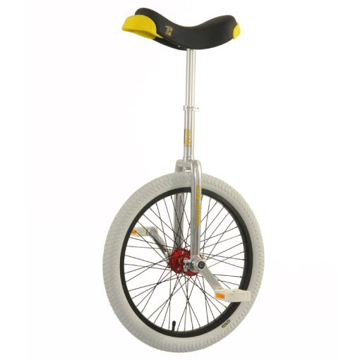 "20"" Qu-Ax 'Profi' Unicycle - Chrome"