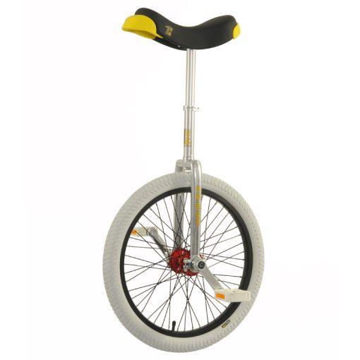"20"" Qu-Ax 'Profi' Unicycle - Chrome"