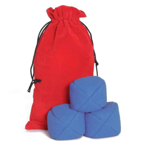 Firetoys Moleskin Ball Set - Blue