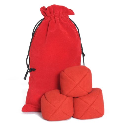 Firetoys Moleskin Ball Set - Red