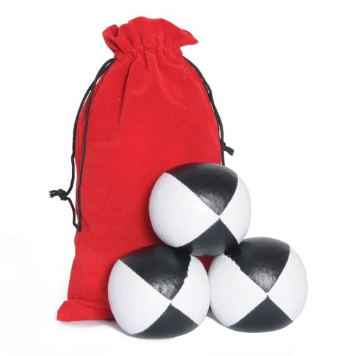 Juggling Ball Set - Black & White