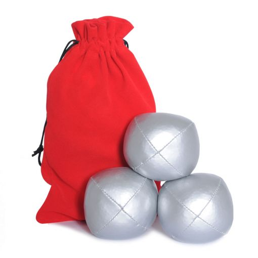 Juggling Ball Set - Silver (120g)
