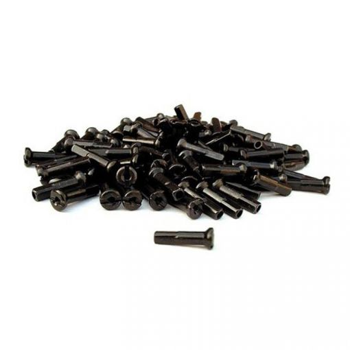 Primo Spoke Nipples 14G - 16mm, Black