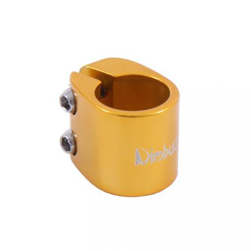 Nimbus Seatpost Clamp - Gold (28.6mm) #DK