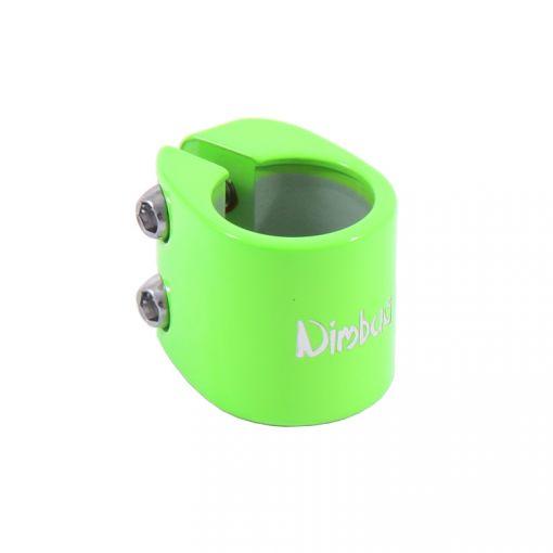 Nimbus Seatpost Clamp - Green (28.6mm) #DK