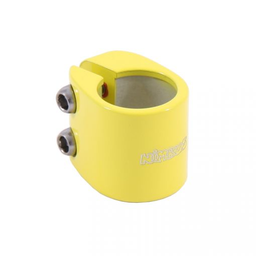Nimbus Seatpost Clamp - Yellow (28.6mm) #DK